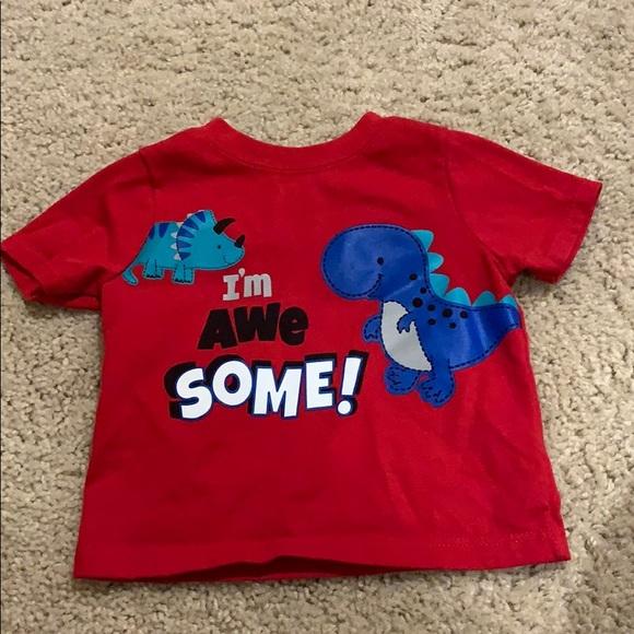 Boy infant shirt